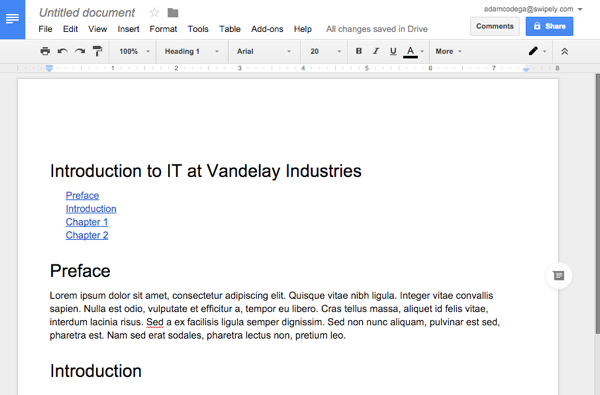 New Google Docs Features To Improve Your Documentation